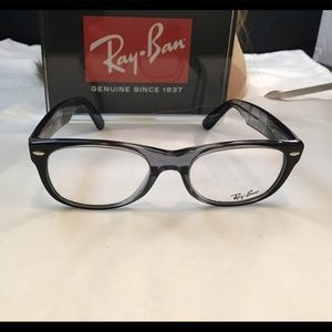 Ray-Ban Eyeglasses Frame RB5184 5515 Grey Black